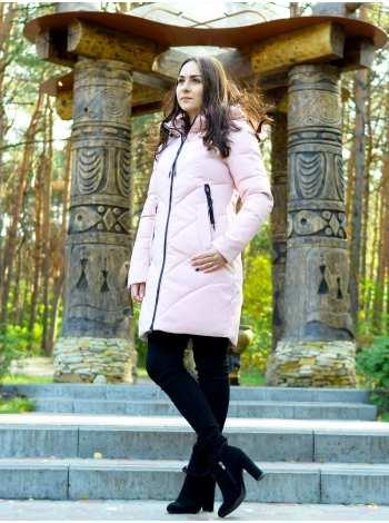 куртка в модном цвете пудра