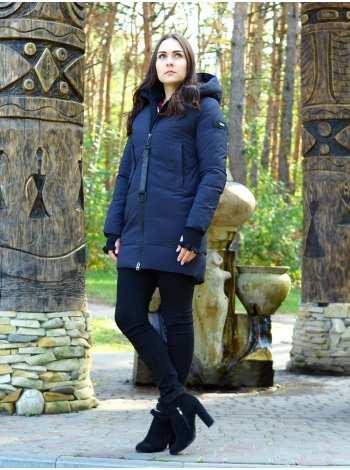 куртка женская свободного кроя