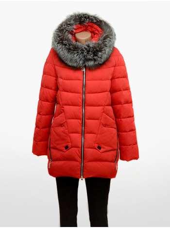 куртка женская с чернобуркой