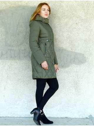 Пальто женское комбинированное без меха Peercat 603