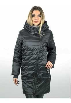 Куртка женская длинная больших размеров Athena 9956