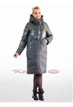 Женское пальто Delfy 1986 больших размеров и уникальных оттенков