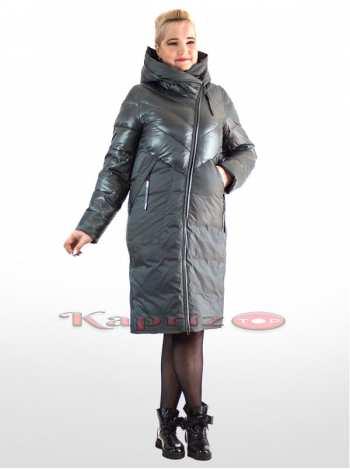 пальто женское комбинированное