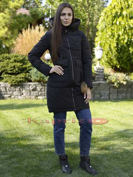 Женская длинная куртка Ecaerst 956