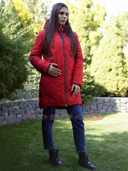 Женская длинная куртка парка в больших размерах Meajiateer m 139