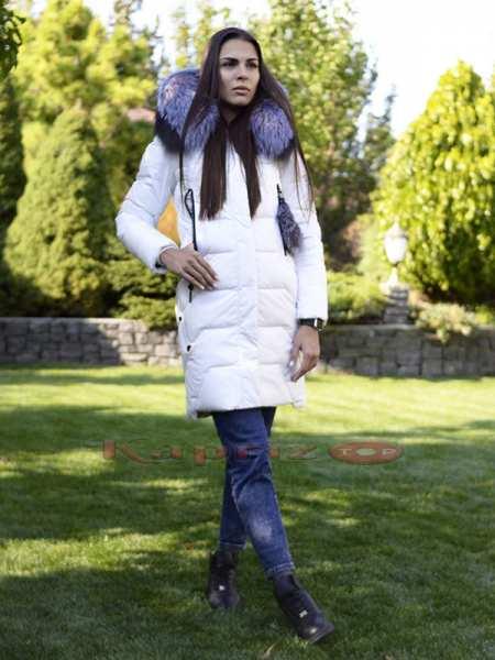 Женская зимняякуртка с мехом Siyaxinge 950