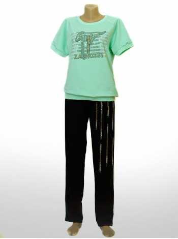 костюм женский прогулочный спортивный