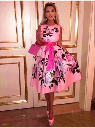 Платье женское праздничное Dress flower